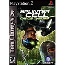 PS2: TOM CLANCYS SPLINTER CELL: CHAOS THEORY (COMPLETE)
